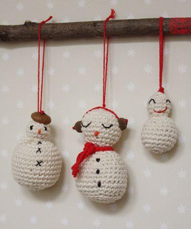 Id es no l archives page 2 sur 3 jiji hook - Bonhomme de neige au crochet ...