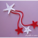 TDN – Marque-page de Noël en Crochet – Aiguilles et Autres Choses