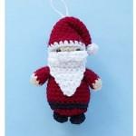 TDN – Père Noël en Crochet – Tiamat
