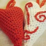 ModèleS de CoeurS – CrocheT et BroderiE