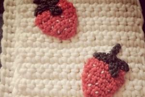 Echarpe fraises
