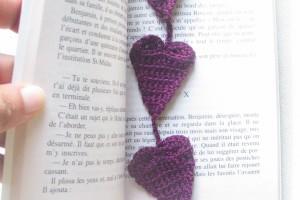 Mes Tutos – Marque-pages Romantique
