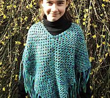 TDN – Poncho au Crochet – Rosalie
