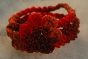 The serial crocheteuses n° 66 – poésie rouge