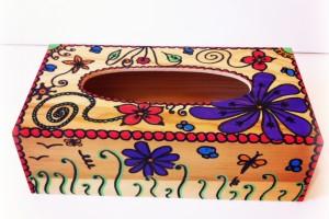 Boîte à Mouchoirs décorée