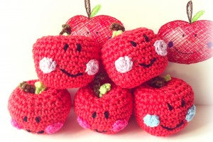 Happy Crochet Apples