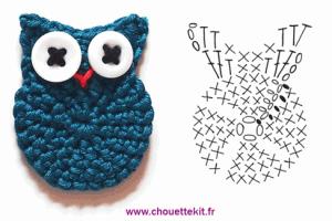 TDN – Petite chouette au crochet – Chouette Kit