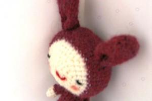 TDN – Lapin en Crochet – Blue Margherite