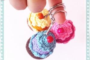 Cupcake en Porte-clé – TutO disponible
