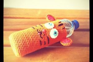 Housse de Bouteille en Crochet