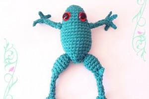 Grenouille en Crochet – TutO disponible