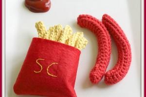 Frites, Saucisses et Crochet