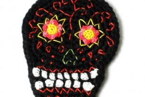 Calavera au Crochet