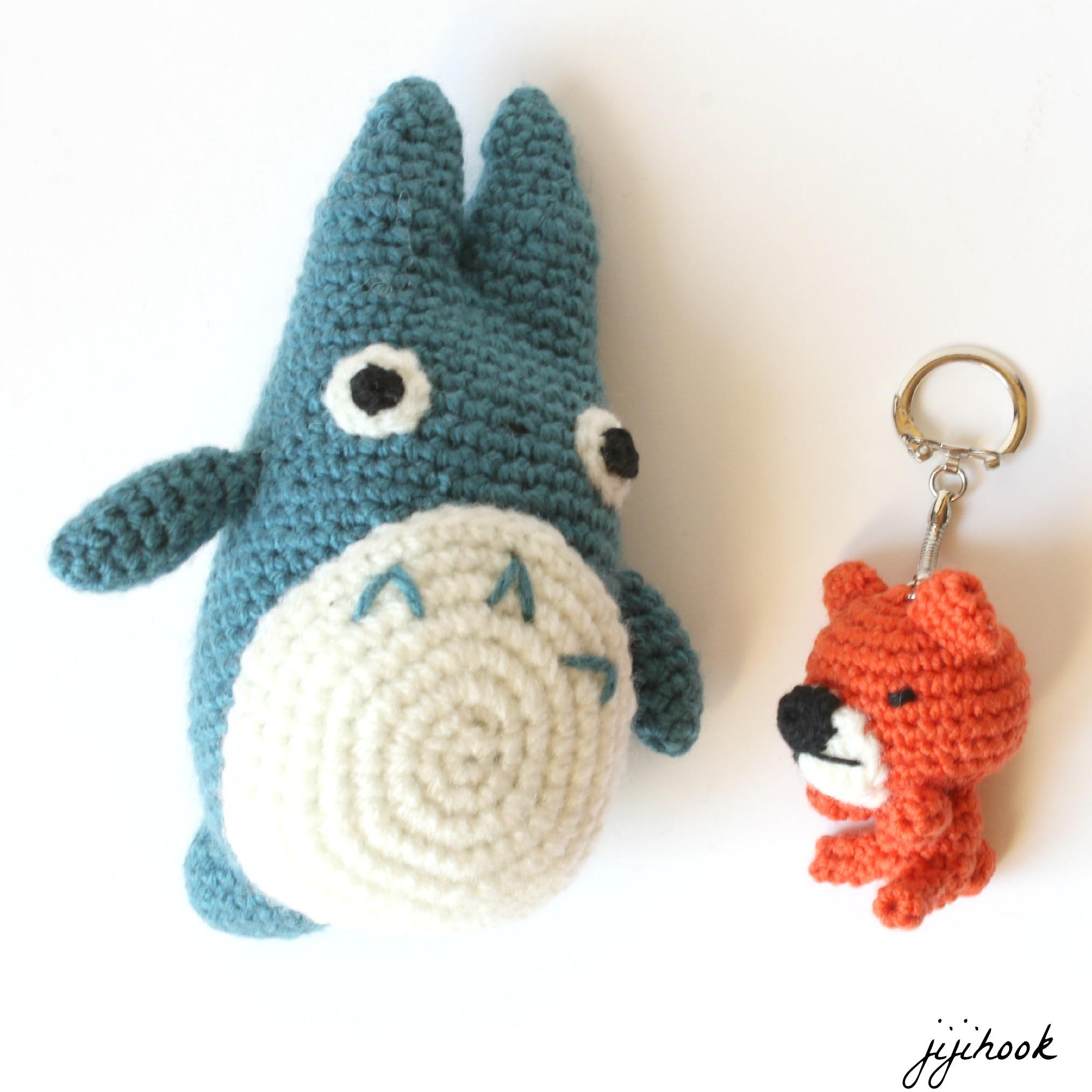 Porte cl ourson en crochet jiji hook - Porte cle crochet ...
