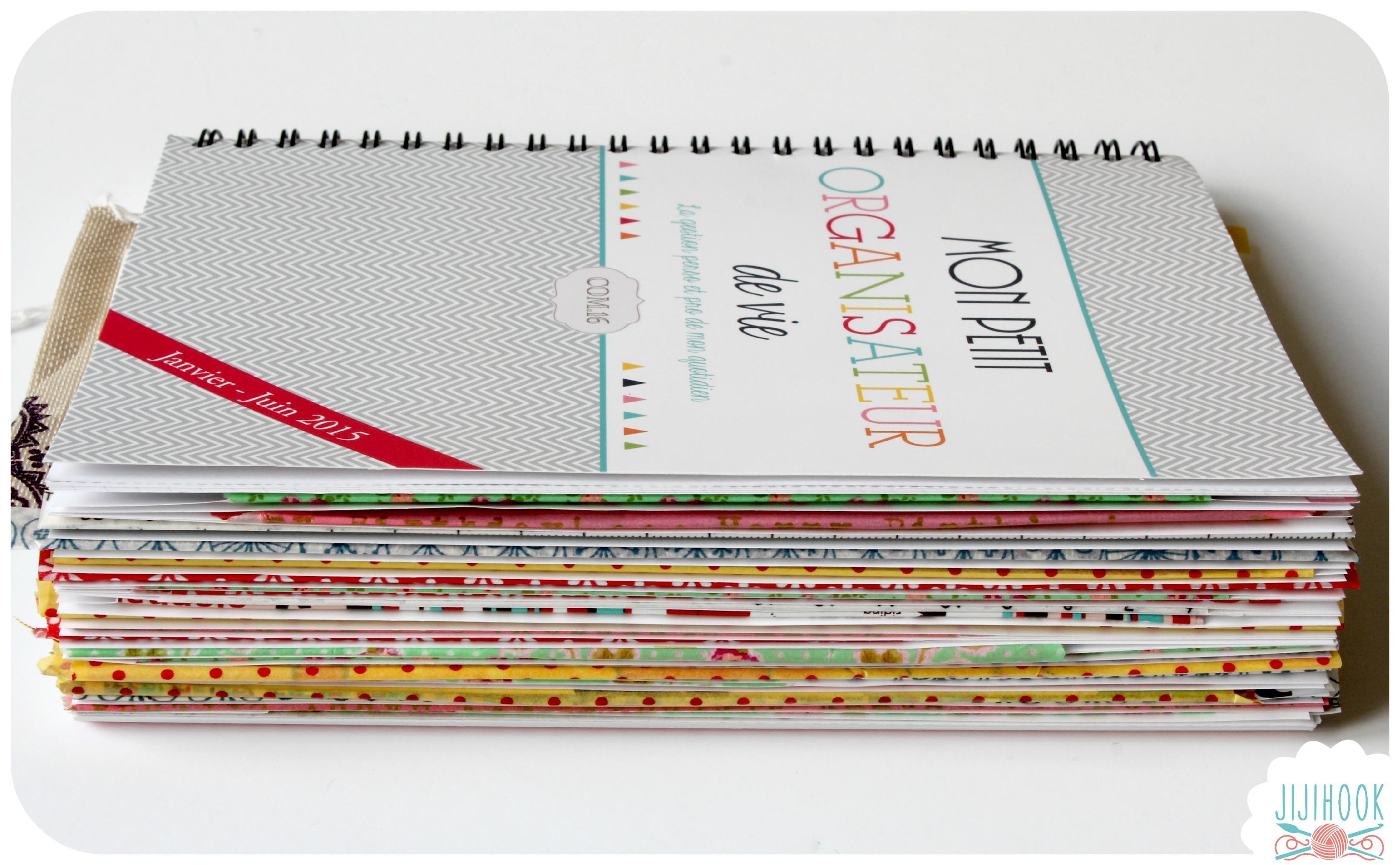 fabriquer un artjournal partir d 39 un agenda jiji hook