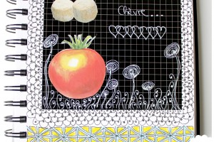 Salade tomates au chèvre ^^