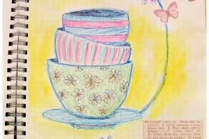 Du thé dans mon smashbook