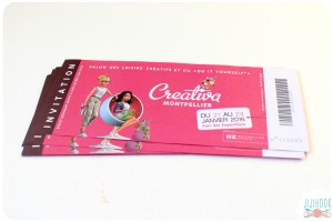Des invitations à gagner pour le salon Creativa