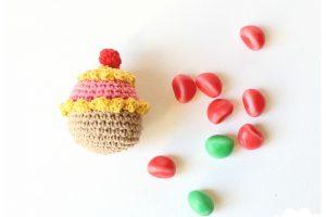 Cupcake en crochet