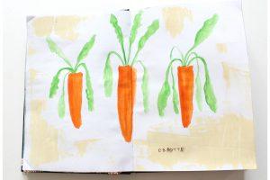 Artjournal et 15 minutes d'aquarelle par jour
