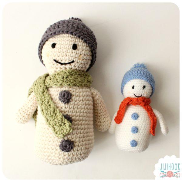 Au crochet qui m 39 aille kit bonhomme de neige gagner - Bonhomme de neige au crochet ...
