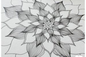 Comment dessiner un mandala ?