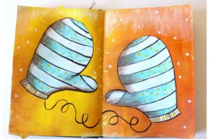Quelques pages d'art journal