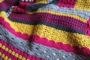 CAL pour une jolie couverture en crochet