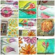dessin aquarelle, aquarelle débutant, atelier créatif, technique aquarelle, atelier peinture, débuter aquarelle, video aquarelle,