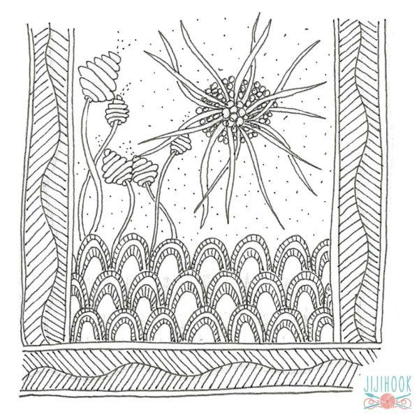 zentangle, dessin facile a faire, gribouillage, dessin zen, zentangle tuto, motif dessin, dessin relaxation, dessin zentangle, motif zentangle