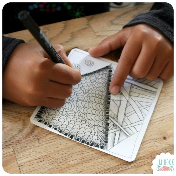 zentangle, dessin facile a faire, gribouillage, dessin zen, zentangle tuto, motif dessin, dessin relaxation, dessin zentangle, motif zentangle, diplome zentangle, czt, matériel zentangle, atelier zentangle, cours zentangle