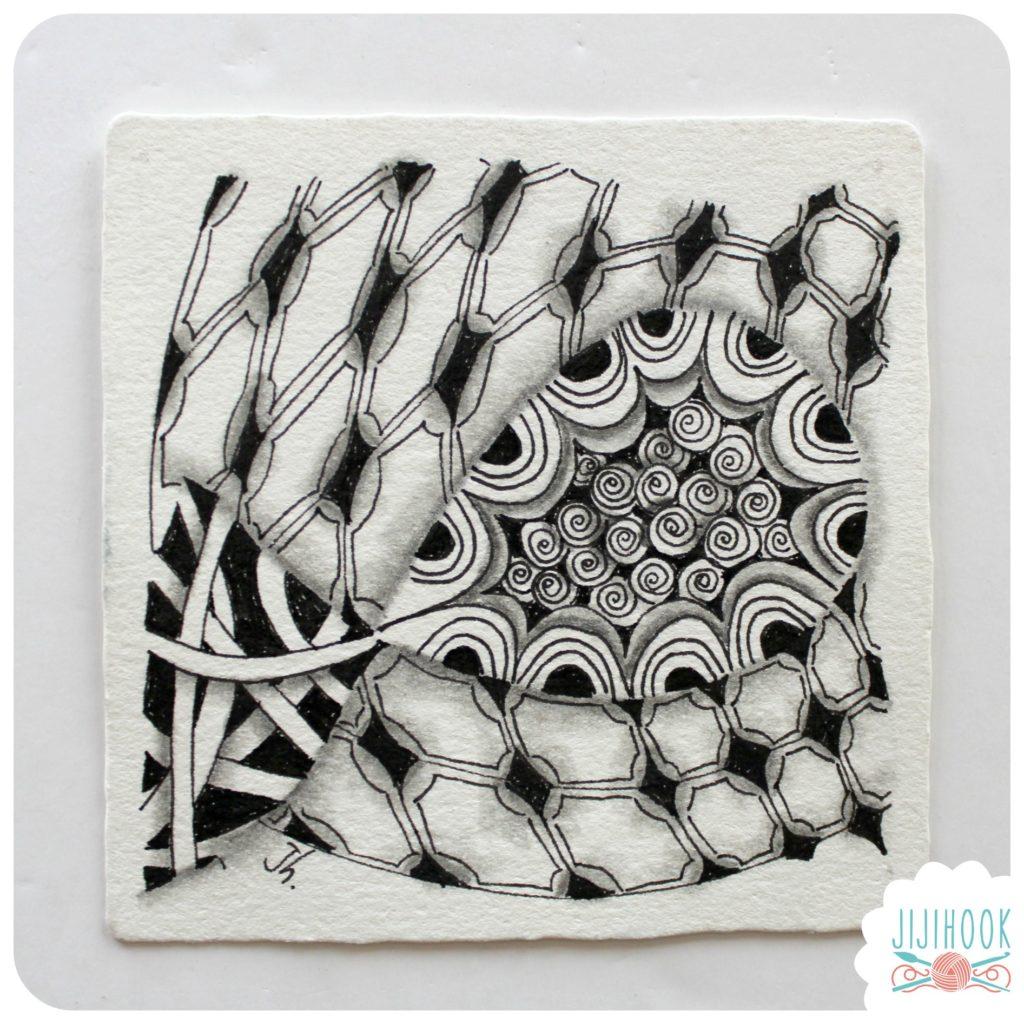zentangle, dessin facile a faire, gribouillage, dessin zen, zentangle tuto, motif dessin, dessin relaxation, dessin zentangle, motif zentangle, diplome zentangle, czt,