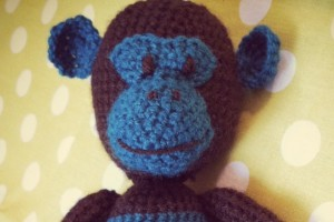 Un singe en crochet