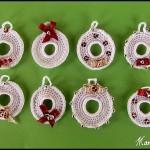 TDN – Couronnes de Noël en Crochet – Mamita