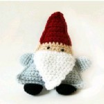 TDN – Gnome de Noël au Crochet – Le Point G Création