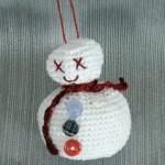 TDN – Bonhomme de Neige en Crochet – Blog DMC