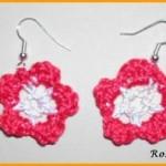TDN – Boucles d'Oreille au Crochet – Roselaine