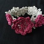 TDN – Bracelet «Kelly» au Crochet – La Cigale dans le Pommier