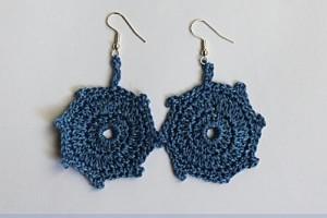 Boucles d'oreille au crochet #3