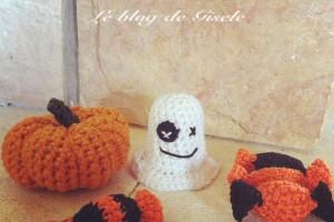 Mes Tutos – Halloween – Fantôme, citrouille et bonbons