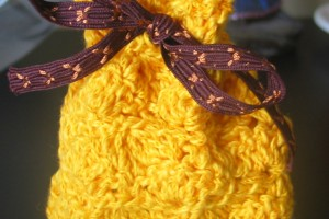 Mes Tutos – Bourse coquille au crochet