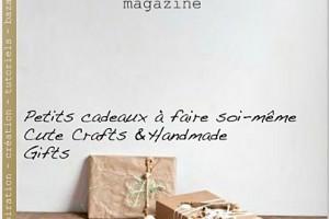 Mon écharpe dans le Plumetis Magazine
