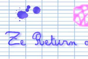 Nouveau défi rentrée : Ze Return of Ze Hook !!!