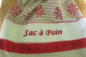 Mes Tutos – Sac à Pain cousu et brodé
