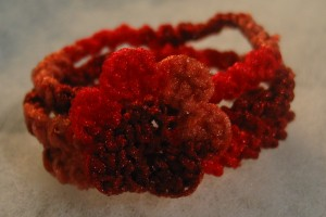 The serial crocheteuses n° 66 – poésie rouge