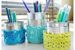 TDN – Cache-pots au Crochet – Céline Factory