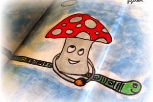 Art Journaling et Gribouillis