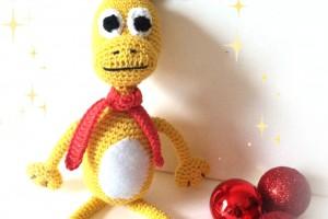 Un élan au Crochet pour Noël – TutO disponible