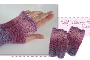 TDN – Mitaines au crochet – Lillychouquette