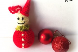 Un Lutin de Noël en crochet